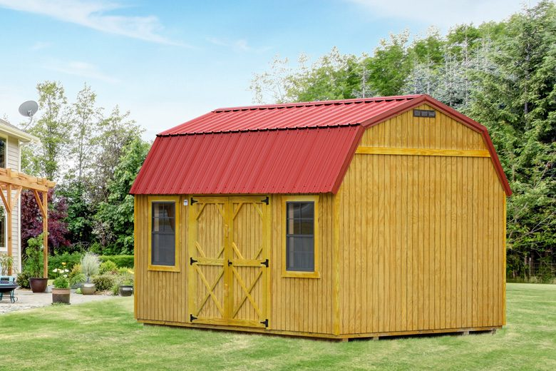 10x16-wooden-lofted-shed-in-va-ky