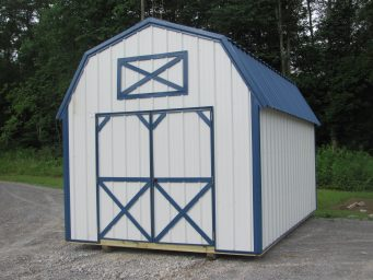 white-metal-storage-sheds-with-loft