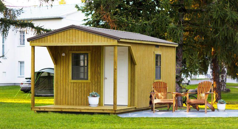 cabin sheds garages in va