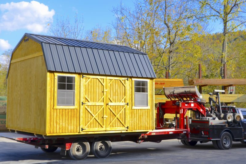 shed-delivery-from-timberline-barns