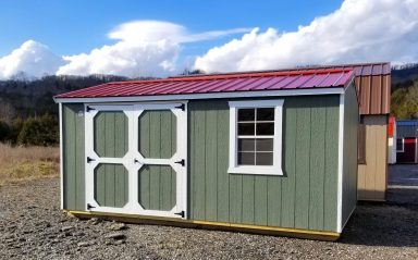 10x16 Garden Shed with LP SMartSide