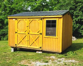 shed for gardens