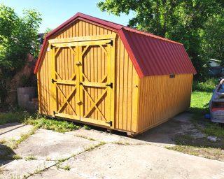 low wall barn in ga