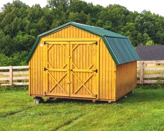 low wall barns for sale