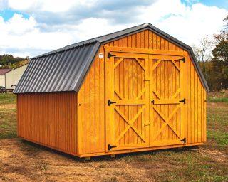 low wall barn