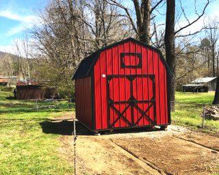 lofted barn storage