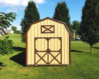 quality lofted barn