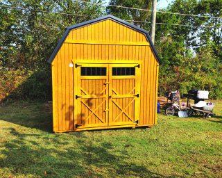 wood lofted barn