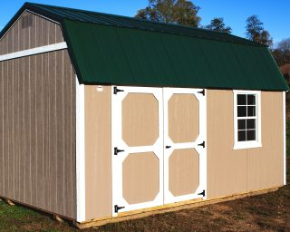 quality lofted garden shed