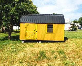 lofted garden shed for sale