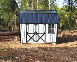 lofted garden shed for garden