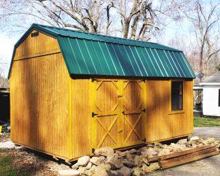 best lofted garden shed