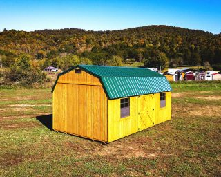 affordable Lofted barn with two windows