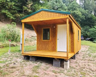 cabin office for sale