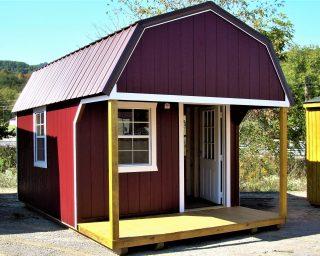 lofted cabin in va