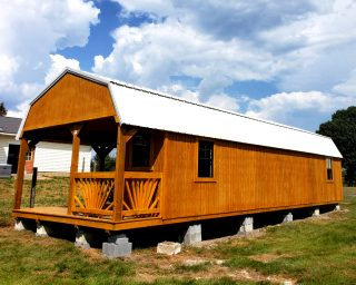 lofted cabin with porch in tn