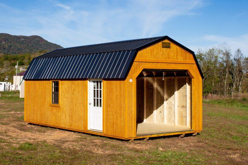lofted garage