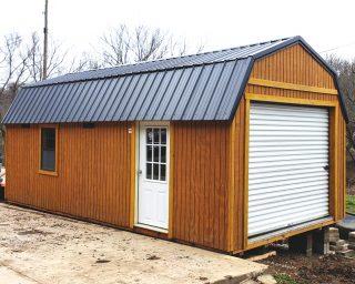 lofted garage for sale