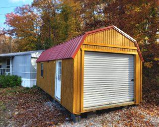 affordable lofted garage