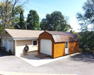 quality lofted garage