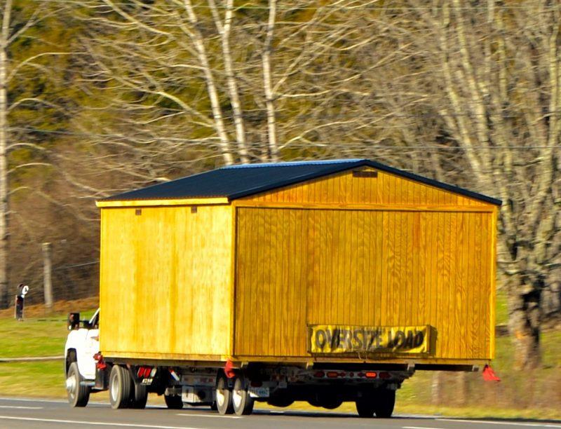 delivery 12x20 portable garage