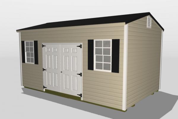 pool house custom shed