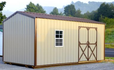 bright garden storage shed