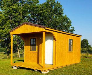spacious portable building