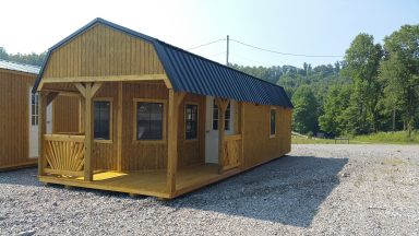 deluxe lofted barn cabin for sale in ky